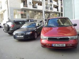 Mercury Villager. Audi A4, Toyota RAV4