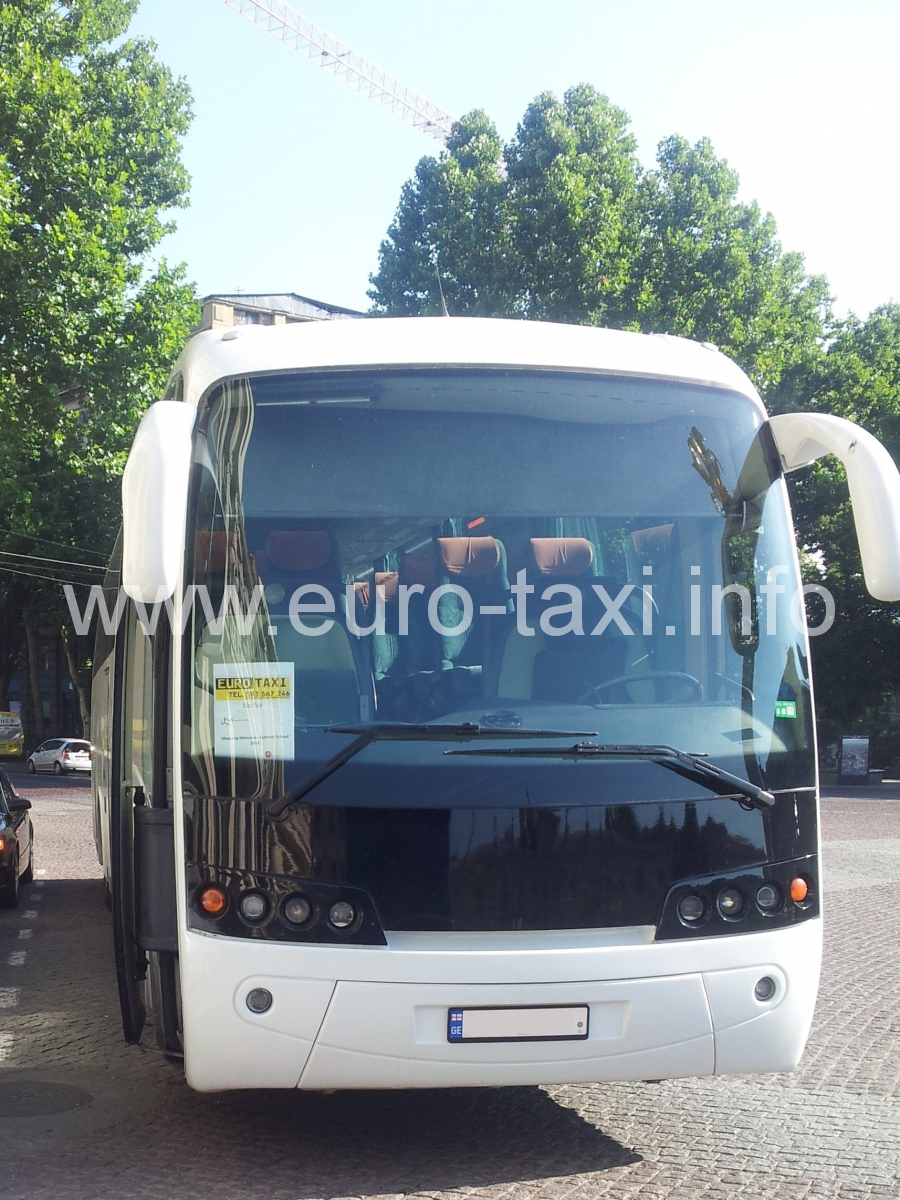 Bus driving for EuroTaxi